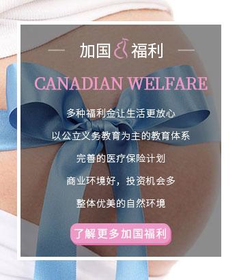 加拿大生孩子福利